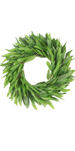 green boxwood wreath 20 inch