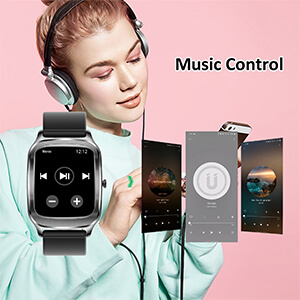 smart watch with music control, MP3 player.