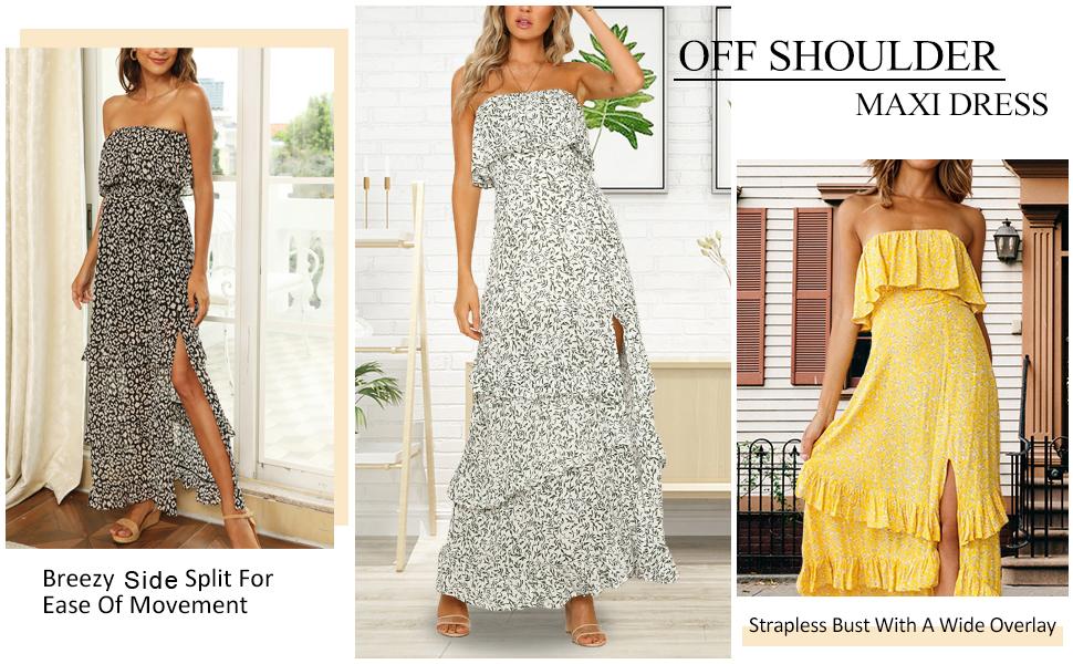 summer long dress long sundresses for women summer