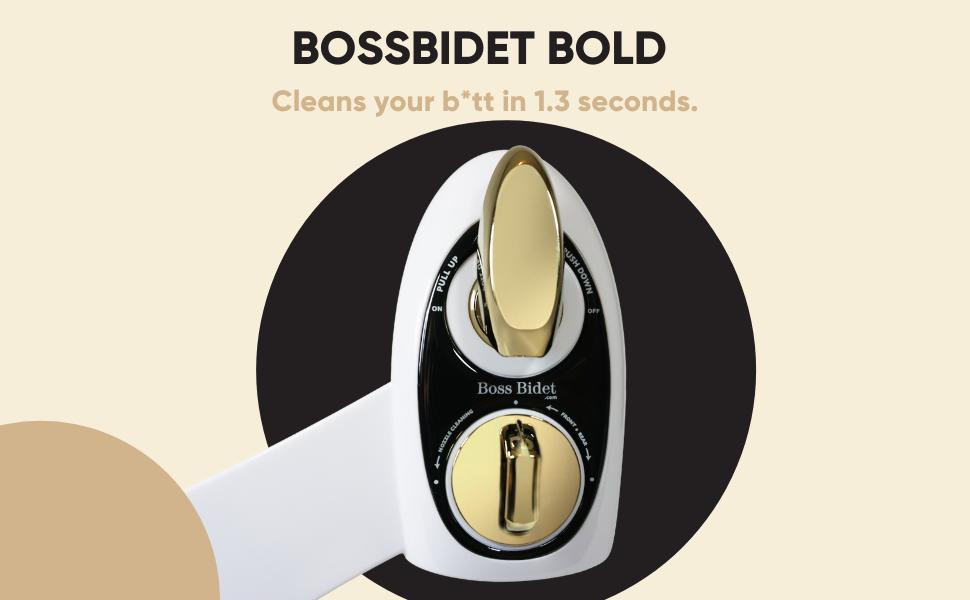bossbidet bold white