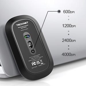 wireless mouse dpi adjustable