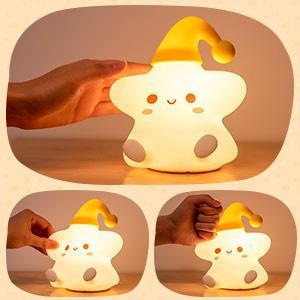night light for baby nursery portable night light lights for kids bedroom silicone night light