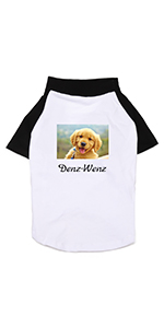 Custom dog summer shirts