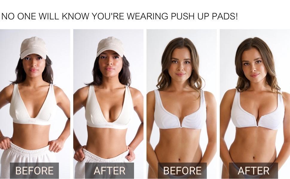 Details about  /1 Pair Bikinis Removable Bra Pads Inserts Foam Sponge Push Up Swimwear`Beachw`US