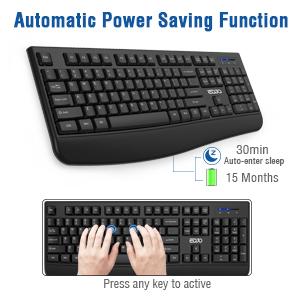 Automatic Power Saving Function