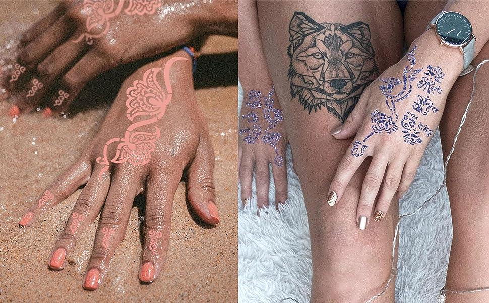 DIY Tattoo Stencils Body Art Stencils
