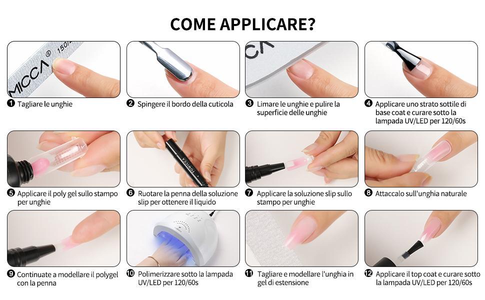 gel nagels starter set gel nagels glitter