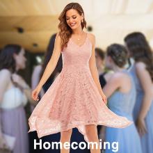 Meetjen bridesmaid cocktail prom dress