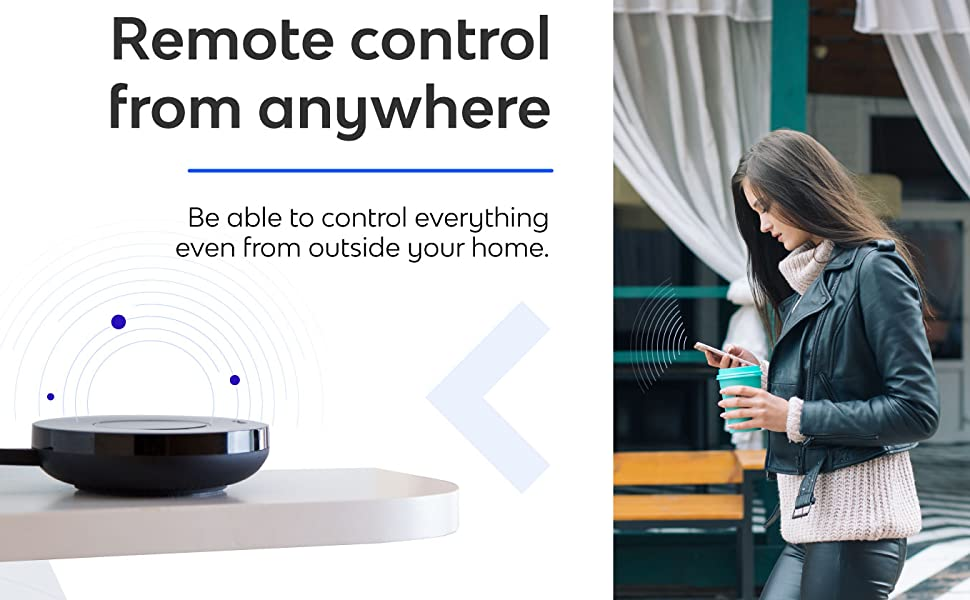 Bond Home. Remote control from anywhere. No installation needed.