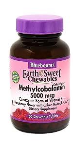 Earthsweet Chewables CellularActive Methylcobalamin 5000 mcg