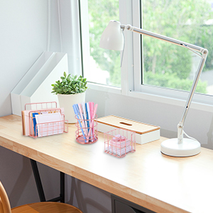 rose gold office supplies and accessories