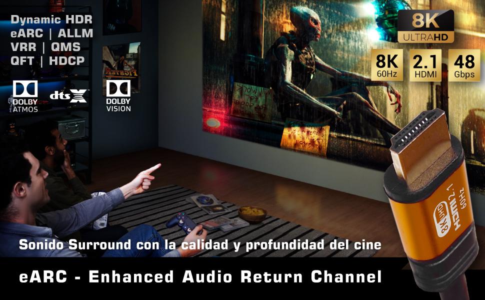 cable hdmi 8k, cable hdmi para pc, cable hdmi ibra, cable hdmi 8k para ps5, cable hdmi 8k para tv