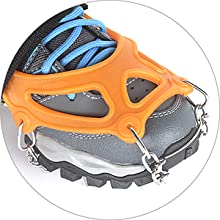 crampons for hiking boots and shoes