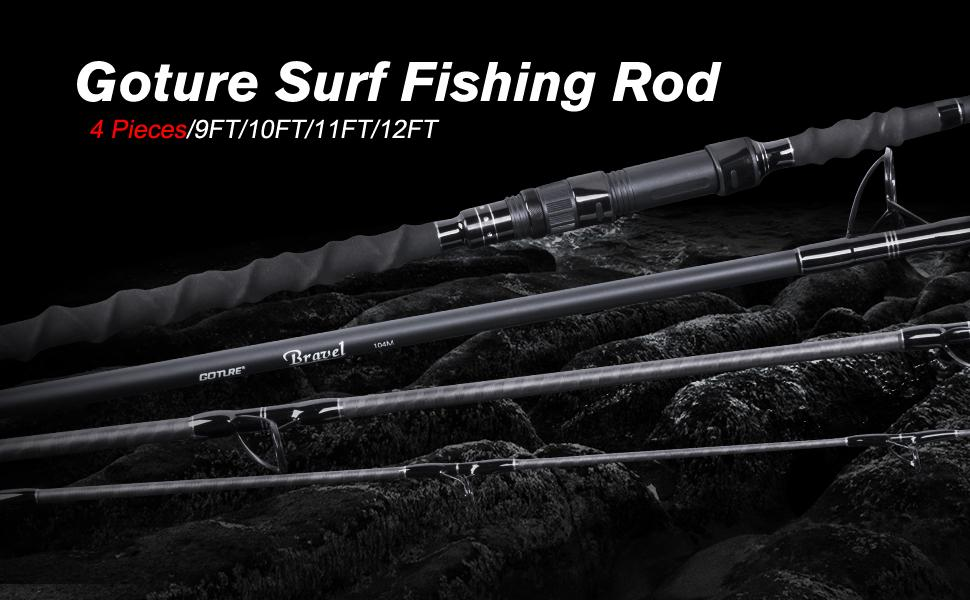 surf fishing rod surf spinning rod surf casting rod travel fishing rod
