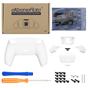 Programable Rise Remap Kit Upgrade Board Redesigned Back Shell Buttons for DualSense Controller PS5