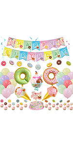 donut party decoration