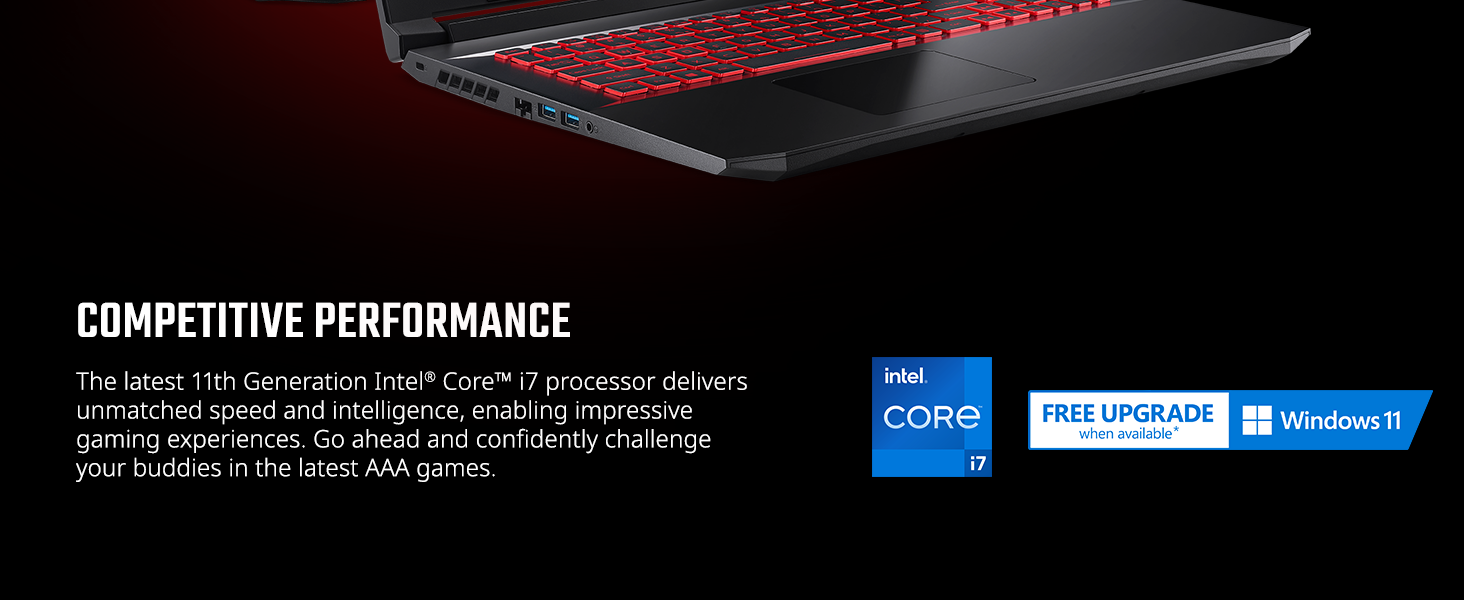 Intel Core i7 and Windows 11