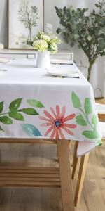 Joyfol Day Flowers Tablecloth