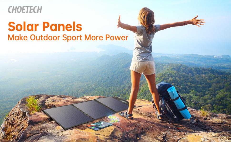 Make ourdoor sport more power