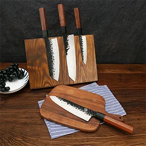 4pcs kitchen knife chef knife cleaver knife kiritsuke knife utility knife