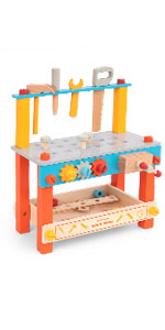 kids tool bench wooden workbench work bench for toddlers