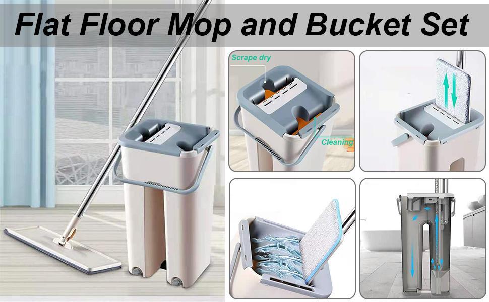 NORIDY Flat Bucket mop