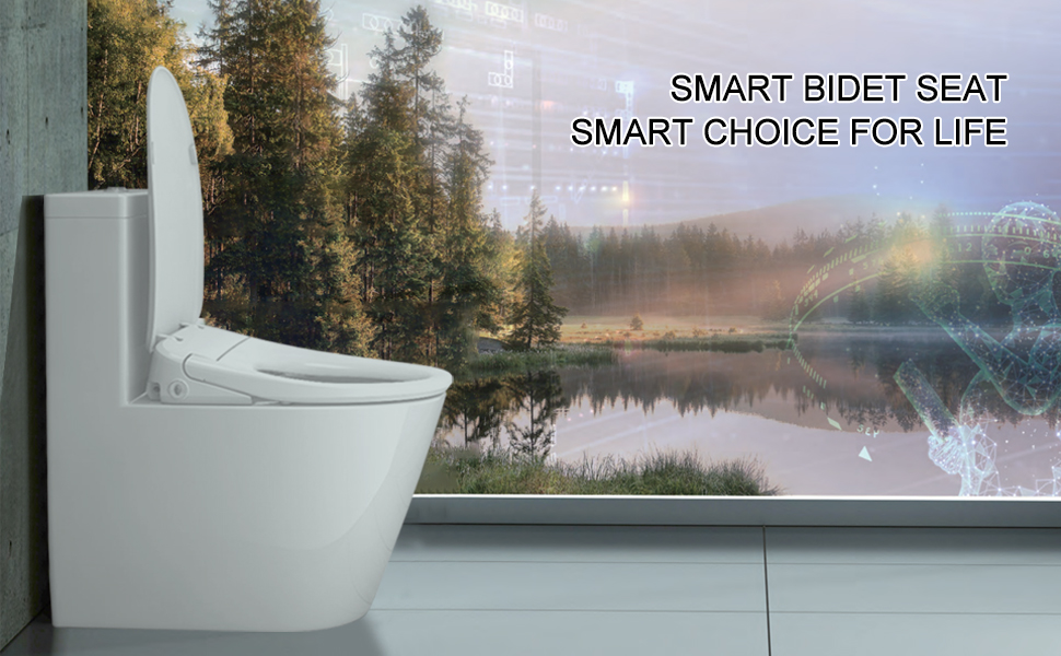 smart bidet seat | smart choice for life