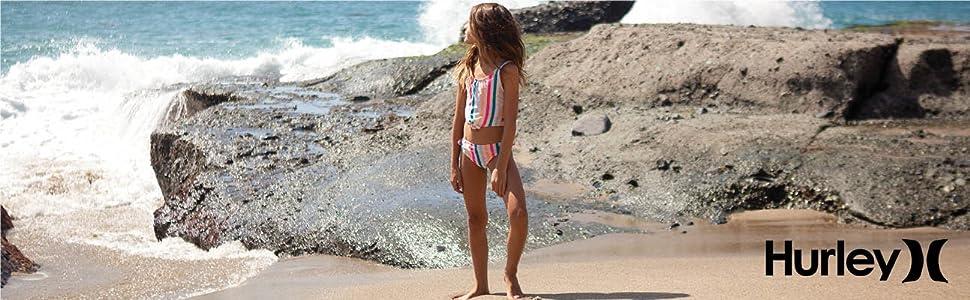 hurley kids, hurley girls, girls swim, girls activewear