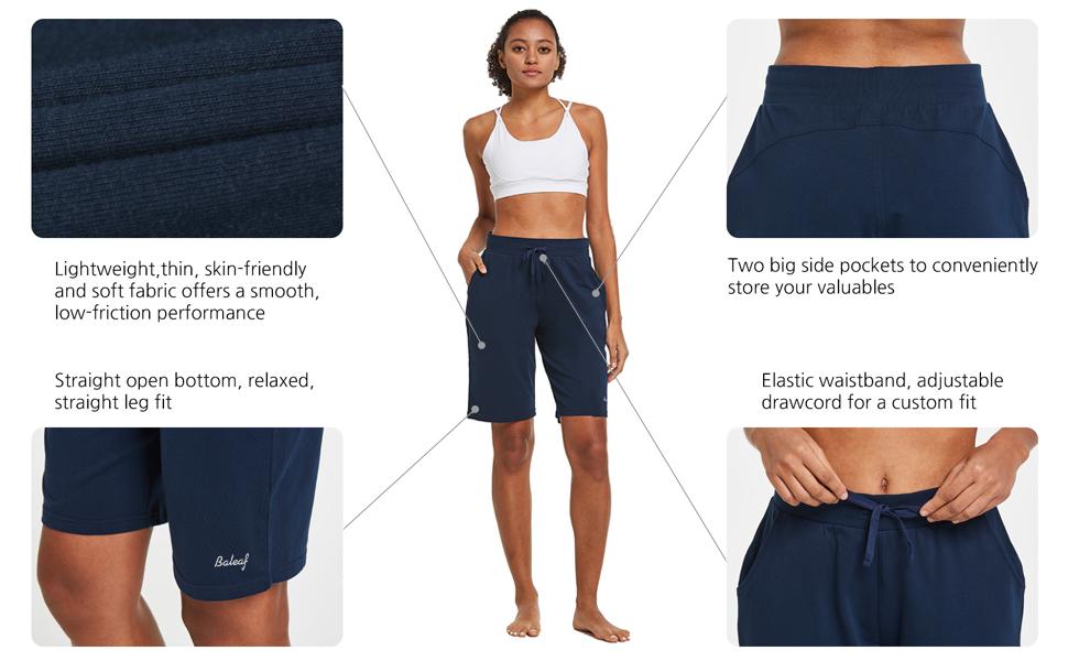 baleaf bermuda shorts