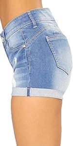 Women Denim Shorts Shorts Body Enhancing Denim ShortsShorts Body Enhancing Denim Shorts