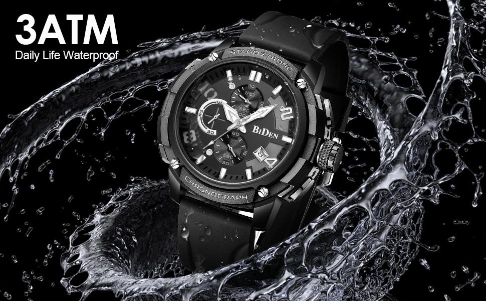 Waterproof Quartz Watch for Men