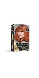 Coloration Permanente pour Femme Préférence L'Oréal Paris