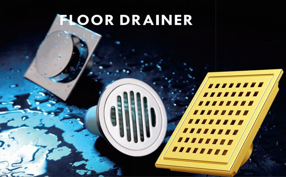 shower  floor drain 6in