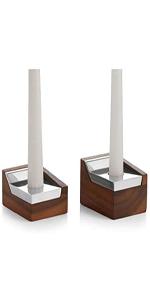 Geo Sabbath Candlesticks