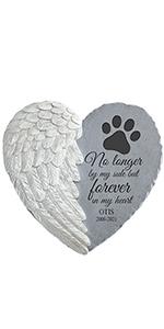 Pawprints on my Heart Memorial Stone