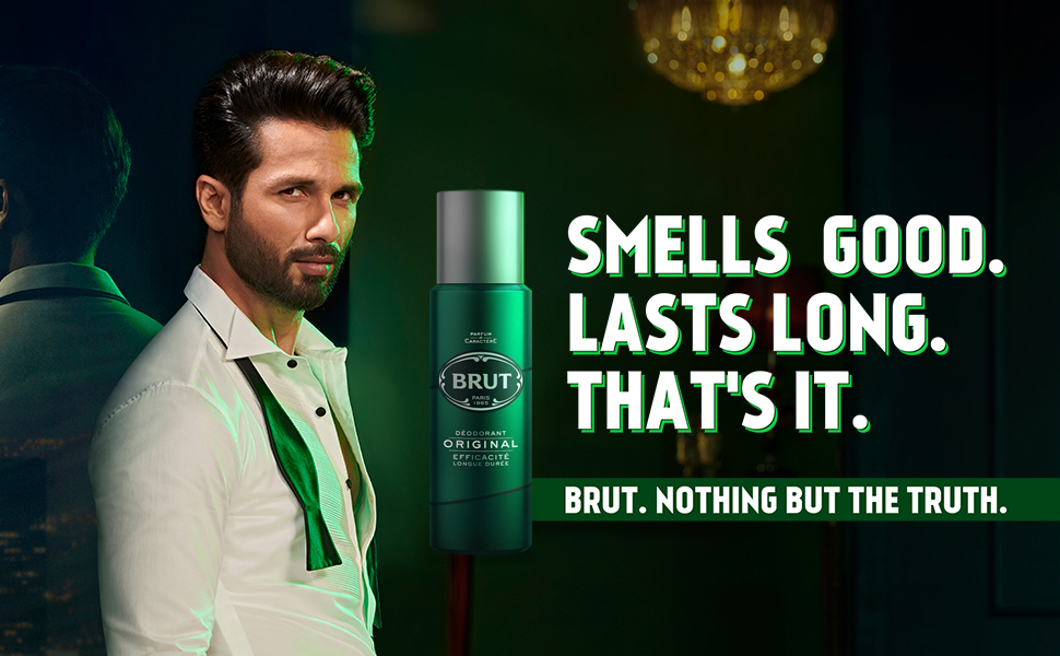 Brut, Original, Long Lasting, Deodorant for Men, Smells Deodrant for men, Lasts long