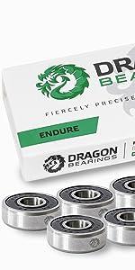 Fireball Dragon ENDURE Bearings