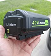 Lasica replacement 40v ryobi battery