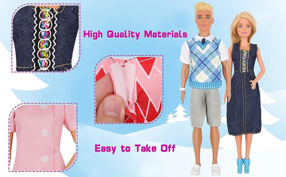 boyfriend girlfriend dolls handmade doll clothes 12'' boy girl doll