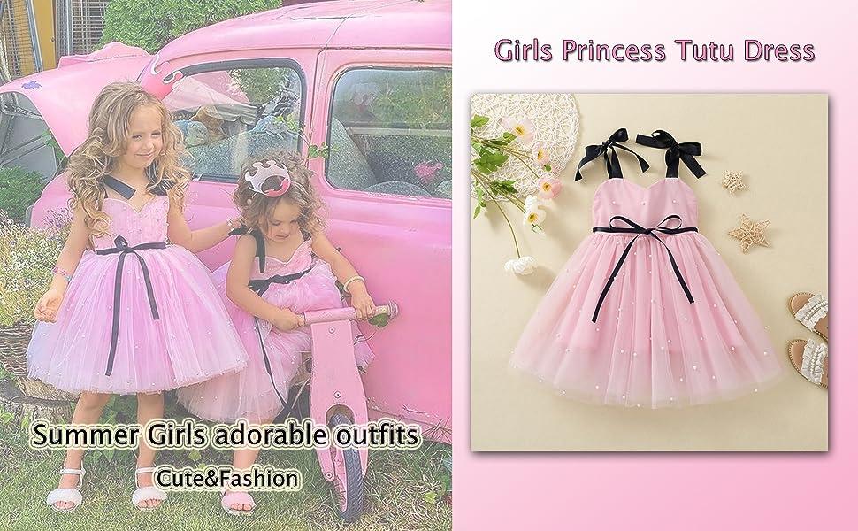 Girls princess tutu dress