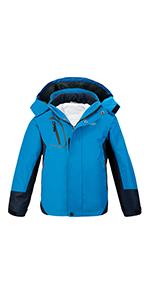 boys 3 in 1 ski jacket
