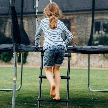 Trampoline Ladder for kids