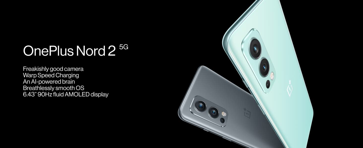 OnePlus Nord 2, 1+ Nord 2, Nord 2, Nord, Smartphone, 5G, Triple Camera, Warp Charge, 1+