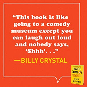 this book is like going to a comedy museum - billy crystal