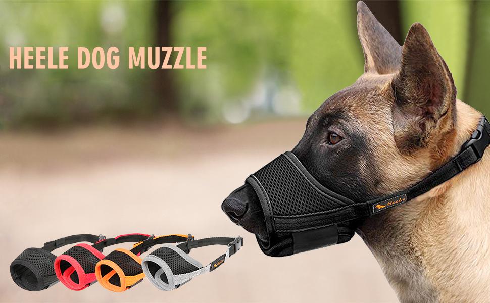HEELE   DOG   MUZZLE
