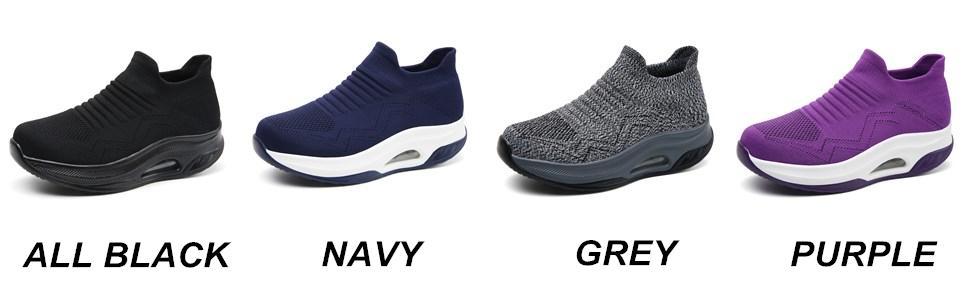 women slip on shoes