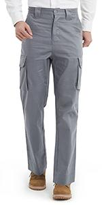 7.5 oz lightweight flame resistant cargo pants for men