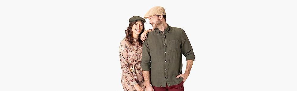 Lipodo Flatcaps for women and men