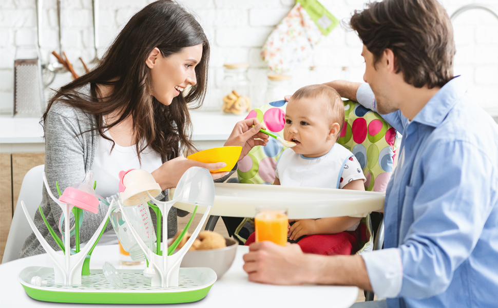 Dry the bottle quickly, let your baby eat healthy and grow up happily