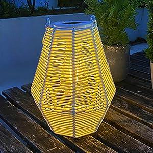 solar powered lantern outdoor